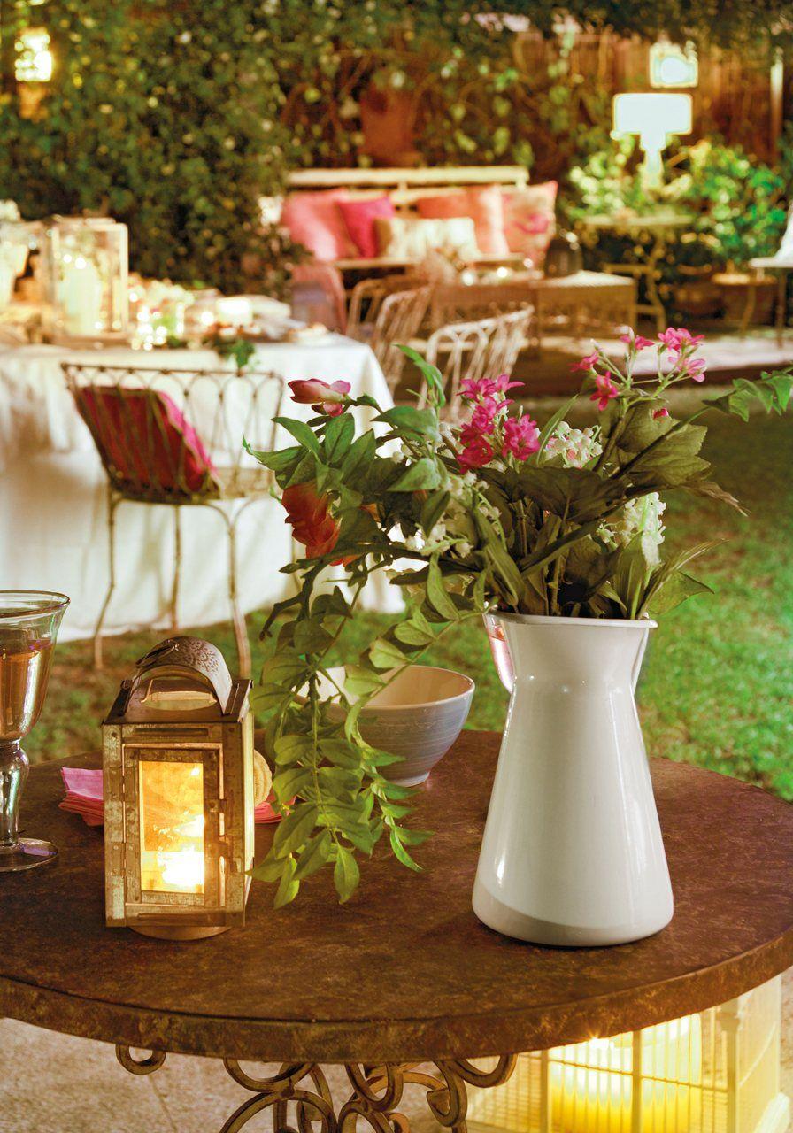 Un jardín de día y de noche · ElMueble.com · Casa sana ...