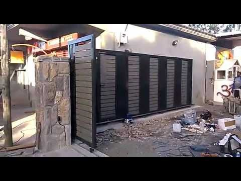Automatic gate Mauritius - YouTube in 2020 | Automatic ...