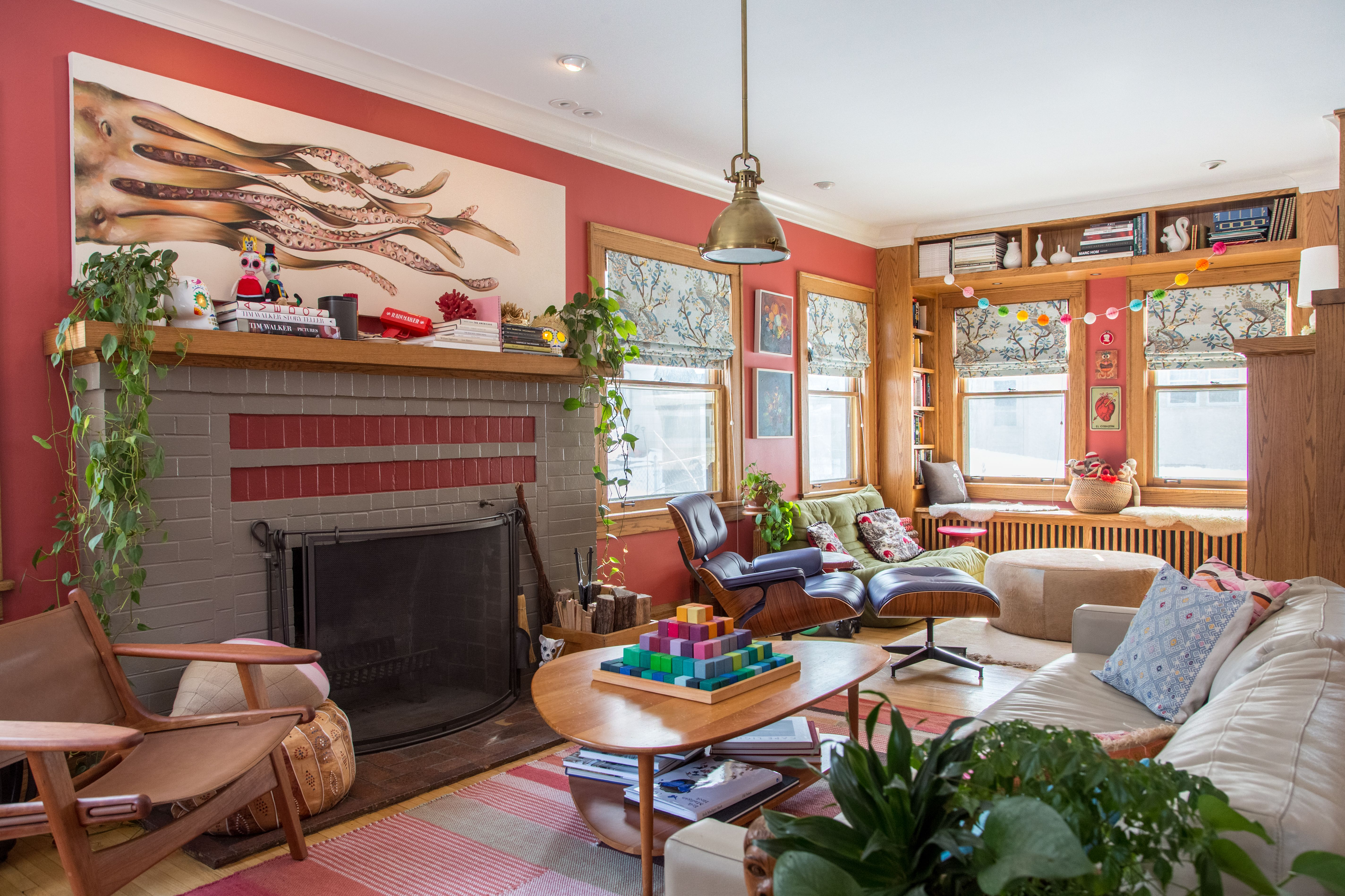 5 Rooms That Make The Case For Red Walls With Images Quality Living Room Furniture Classic Living Room Living Room Furniture