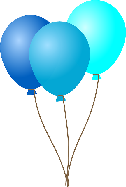 Free Image On Pixabay Birthday Party Balloons Blue Balloons Balloon Clipart Birthday Balloons