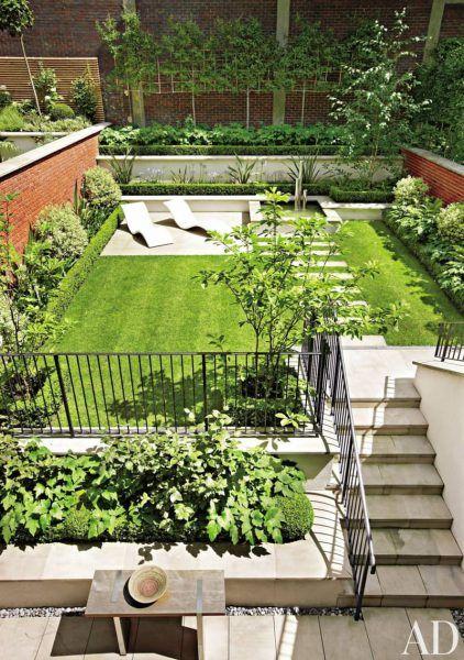 Patios y terrazas que te harán querer que jamás se esconda el sol - jardines en terrazas
