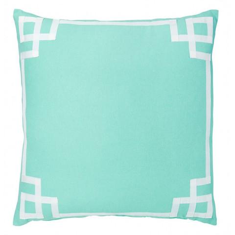 Mint deco pillow Caitlin wilson textiles, Pillows
