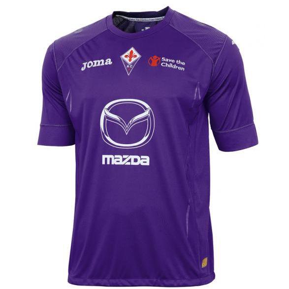 Joma - Fiorentina Maglia Ufficiale 2012-13 - Calcioshop.it   Camicia  sportiva, Maglia, Maglie