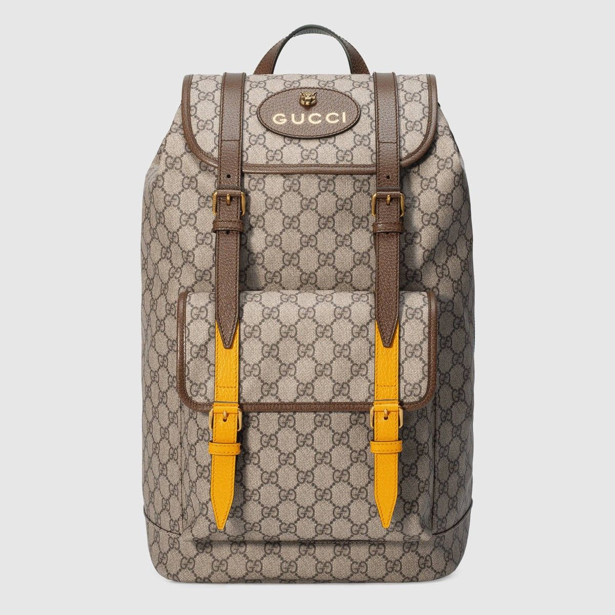 c702a7c78646 GUCCI Soft GG Supreme backpack - GG Supreme.  gucci  bags  leather  lining   linen  nylon  backpacks  cotton