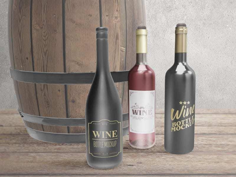 Download Free Download Tissue Box Mockups On Vectogravic Com In 2020 Free Wine Bottles Bottle Mockup Wine Bottle