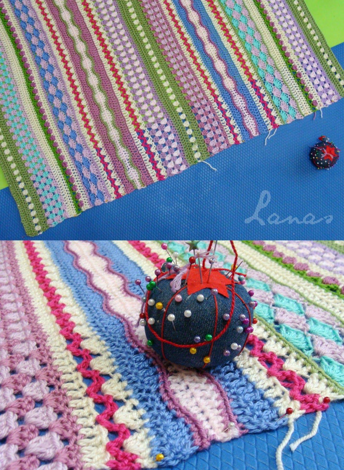 Lanas de Ana: Fantasy Blanket | crochet - inspiration | Pinterest ...