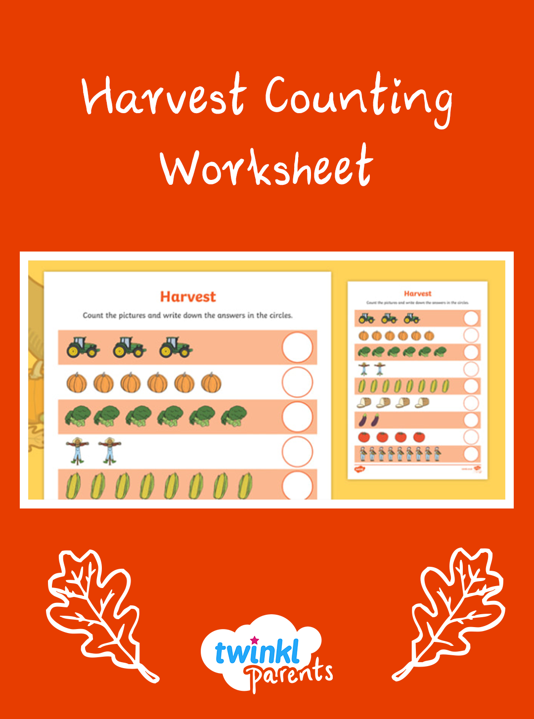 Include Some Maths In Your Harvest Celebrations This