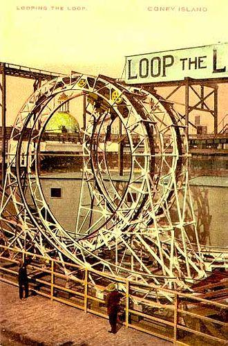Loop the Loop Roller Coaster, Coney Island, 1901