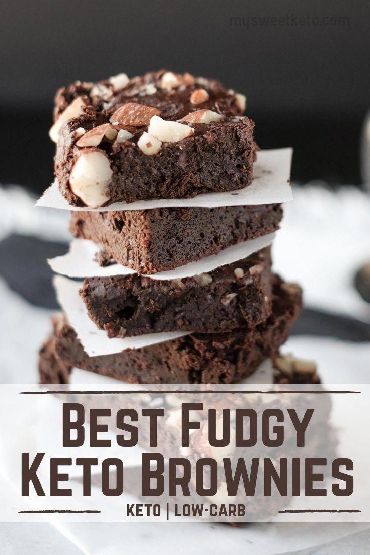 Best Fudgy Keto Brownies - Keto Brownies - Ideas of Keto Brownies -  You might not want to believe