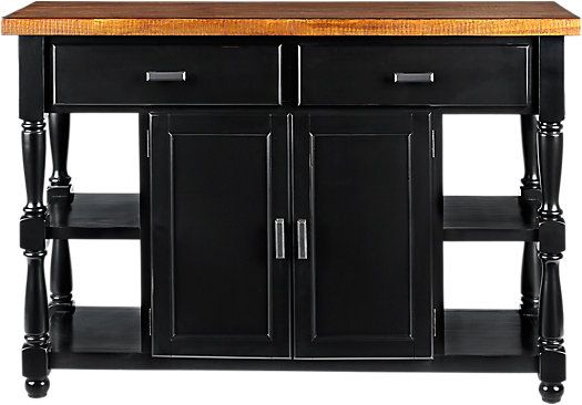 Shop For A Hillside Cottage Black Sideboard At Rooms To Go Find Servers That Will Look Great In Your Rooms To Go Furniture Black Sideboard Black Buffet Table