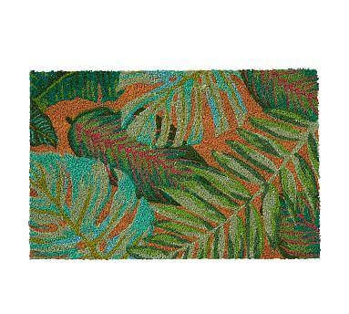 Palm Print Doormat Door Mat Outdoor Furniture Sale