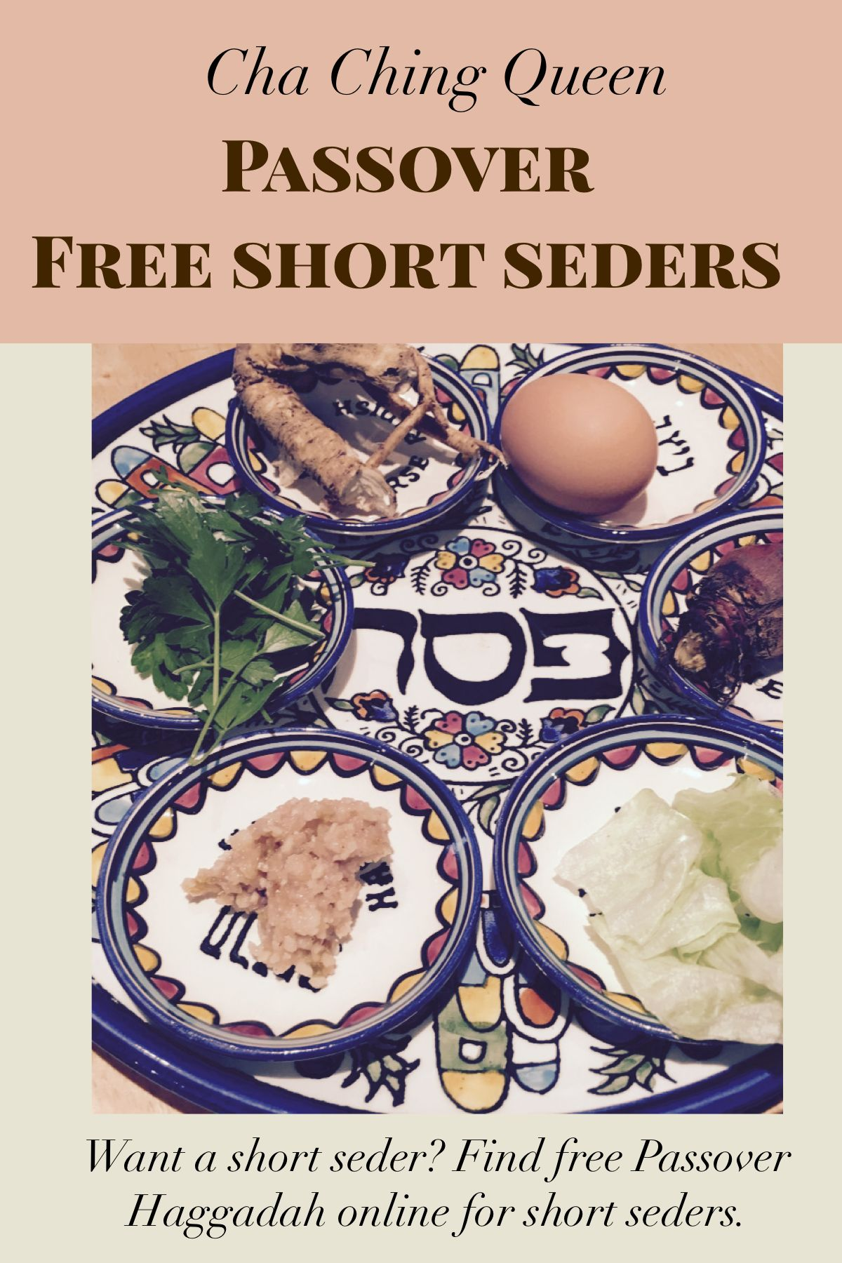 photo relating to Printable Haggadahs called Brief Seder Record - Free of charge Printable Pover Haggadah On the net