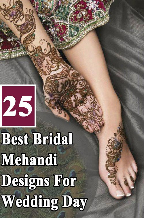 Bridal mehndi designs for your wedding day also outstanding mehendi collection tettoo rh id pinterest
