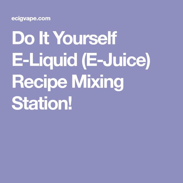 Do it yourself e liquid e juice recipe mixing station random do it yourself e liquid e juice recipe mixing station solutioingenieria Gallery