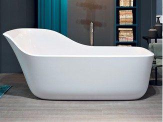 Vasca da bagno centro stanza in Ceramilux® WANDA | Vasca da bagno ...