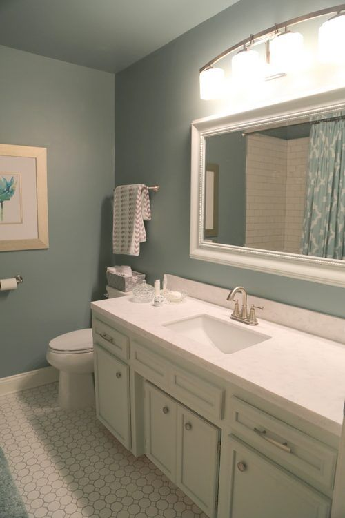 Nice How To Update A Hall Bathroom On A Budget