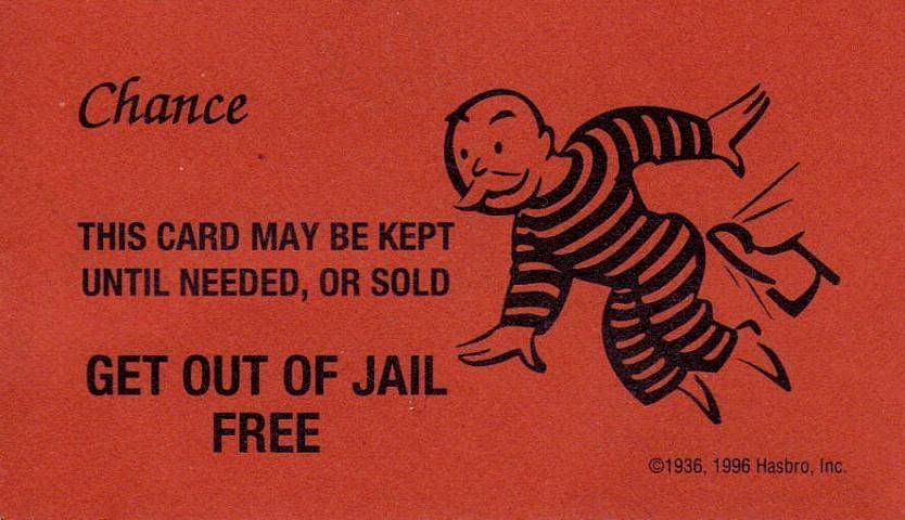 Get Out Of Jail Free Card Templates Free Free Business Within Get Out Of Jail Free Card Template In 2021 Card Templates Free Card Template Small Business Cards