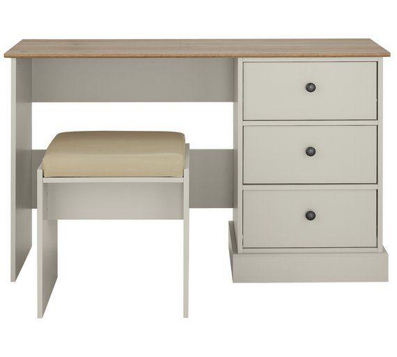 Buy Collection Kensington Dressing Table Soft Grey Oak