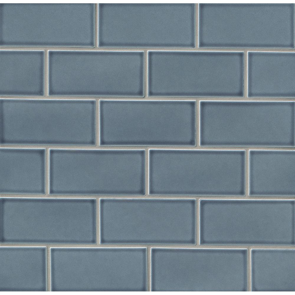 Park place 3 x 6 ceramic subway tile in blue subway tiles park place 3 x 6 ceramic subway tile in blue dailygadgetfo Gallery