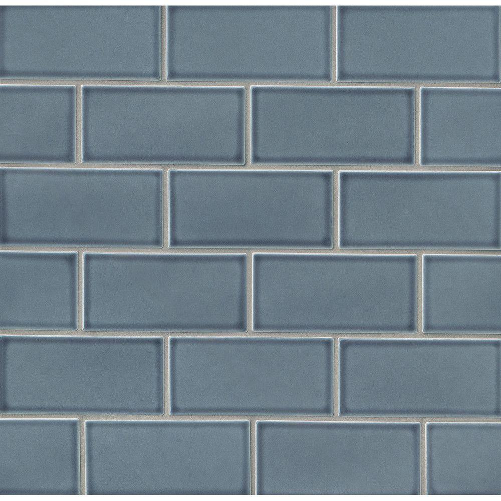 Park place 3 x 6 ceramic subway tile in blue subway tiles grayson martin park place 3 x 6 porcelain subway tile dailygadgetfo Choice Image