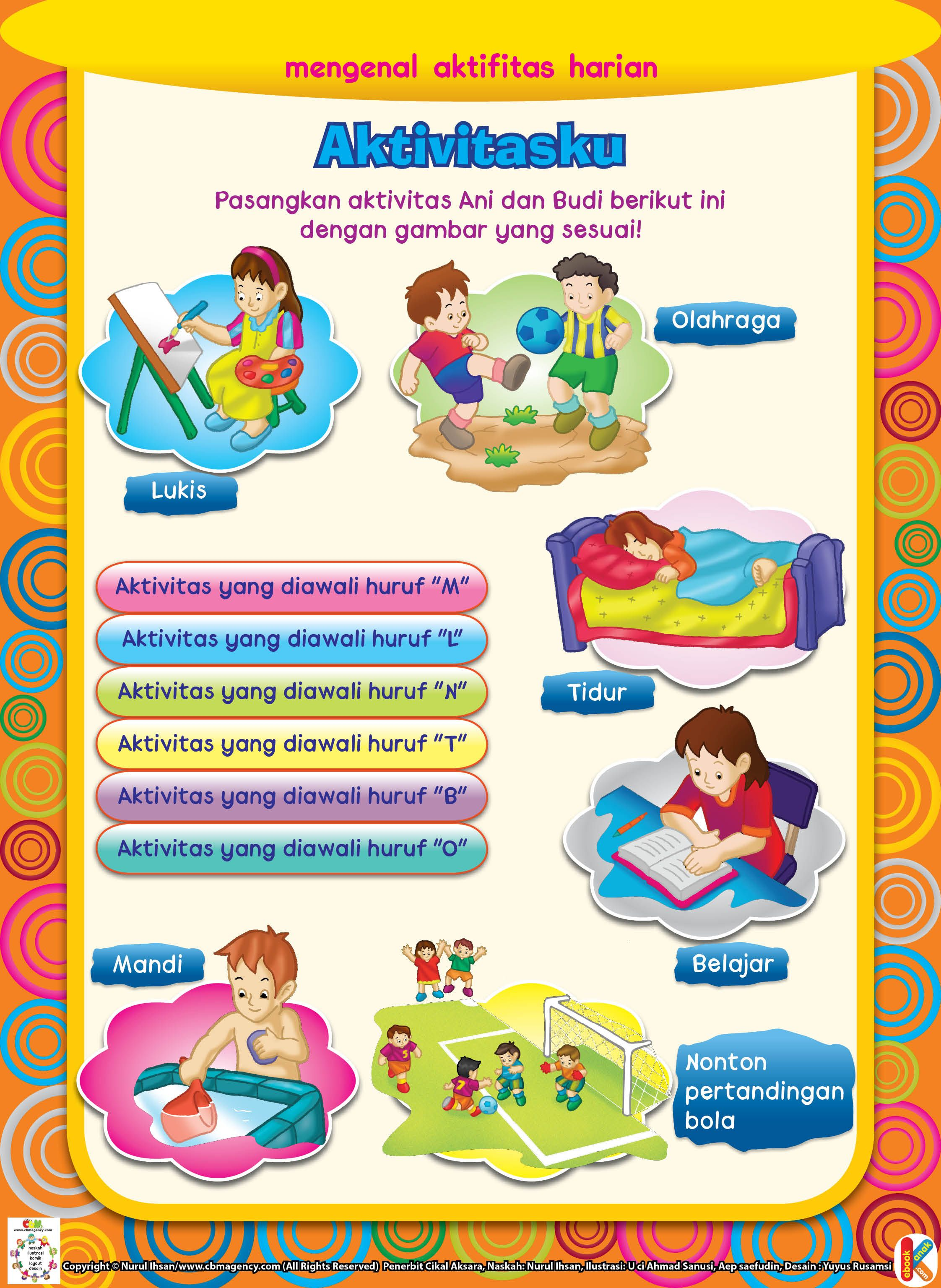Pin Oleh Marlina Di Preschool Activities Buku