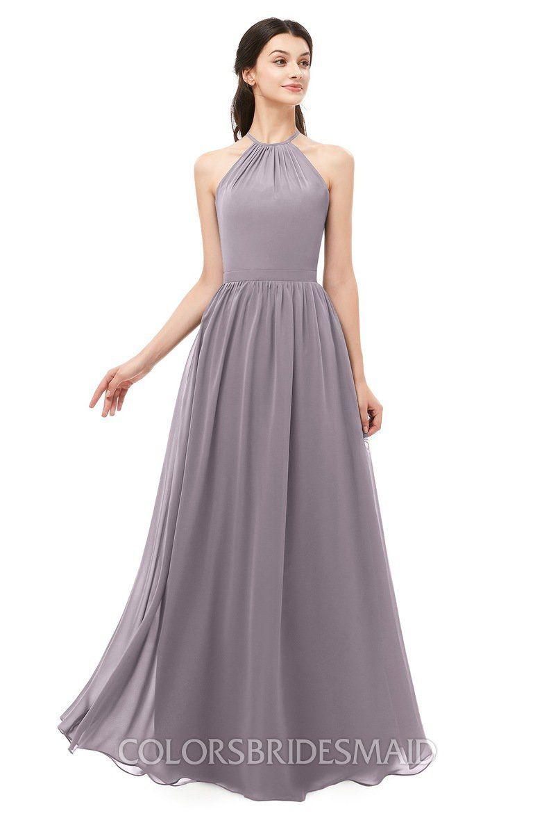 6ea84899ae5d Sea Fog color Salmon Bridesmaid Dresses, Criss Cross, Irene, Sash, Backless,