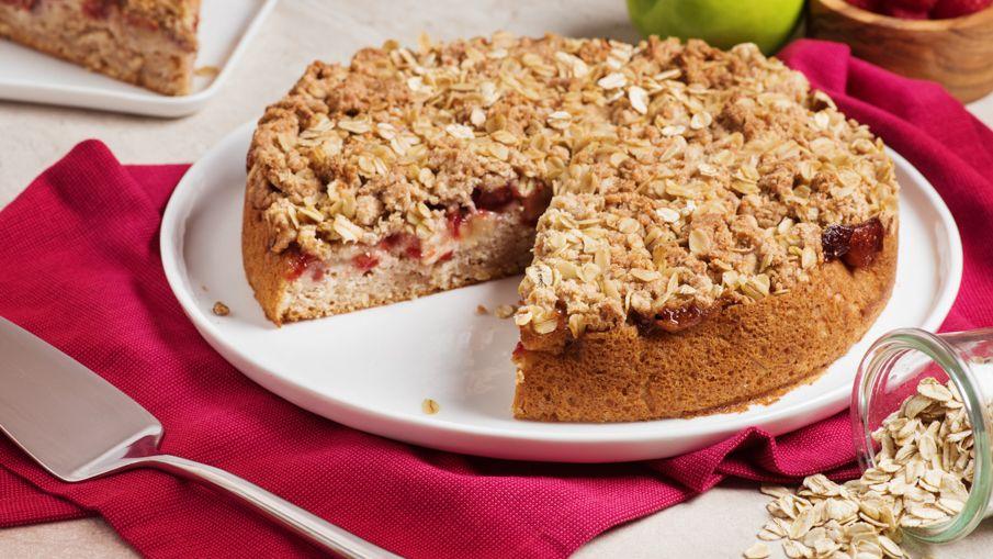 Apple raspberry crumb cake thehub from walmart canada