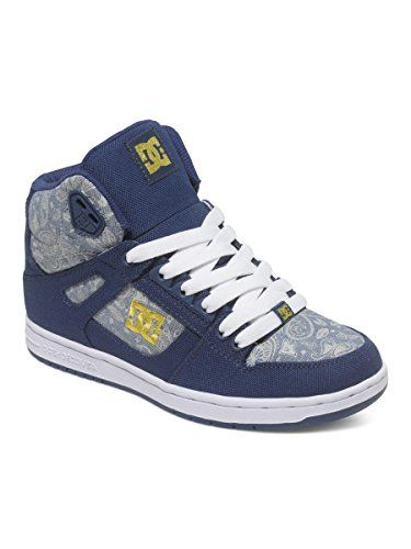DC Womens Rebound High TX SE Skate Shoe Insignia Blue 105 M US -- See this  great product. (Amazon affiliate link) 1312b4bee2a