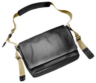 Scopri Tracolla Barbican -/ Tessuto, nero di Brooks, Made In Design Italia