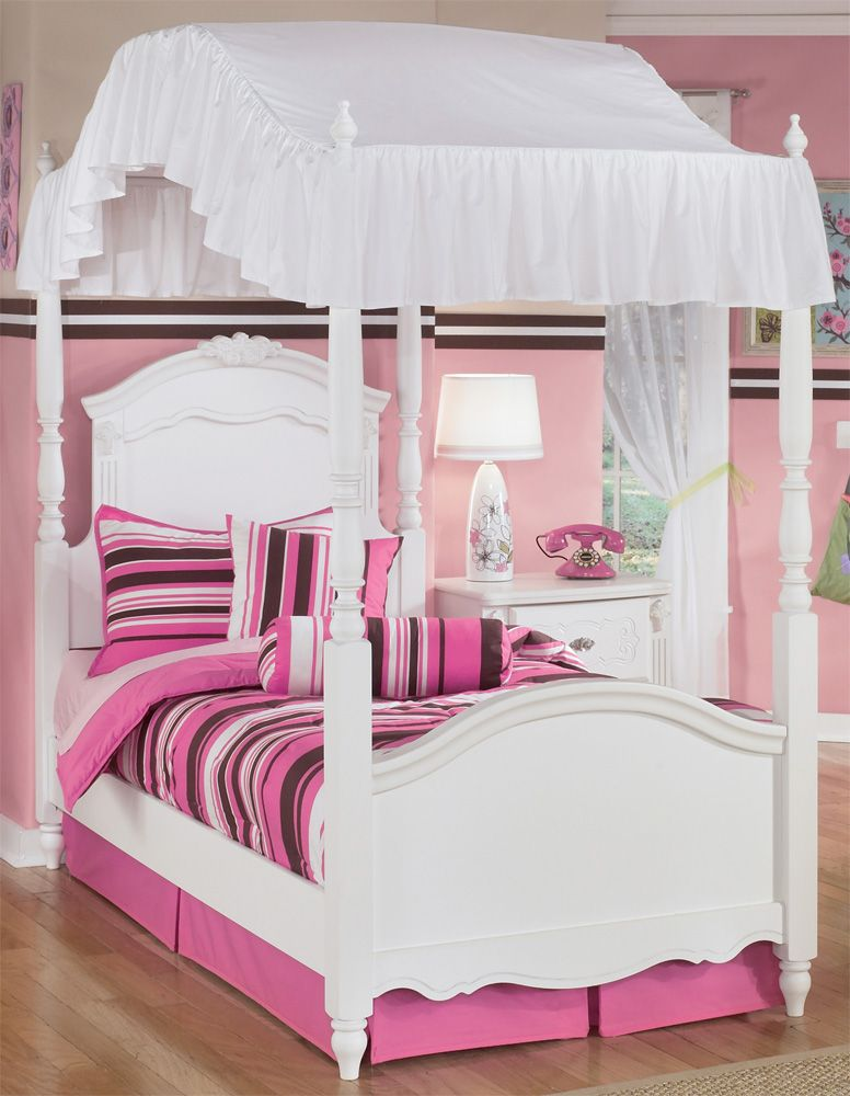 17 Cool Twin Bed With Canopy For Girls & 17 Cool Twin Bed With Canopy For Girls | KIDS BEDROOM IDEAS ...
