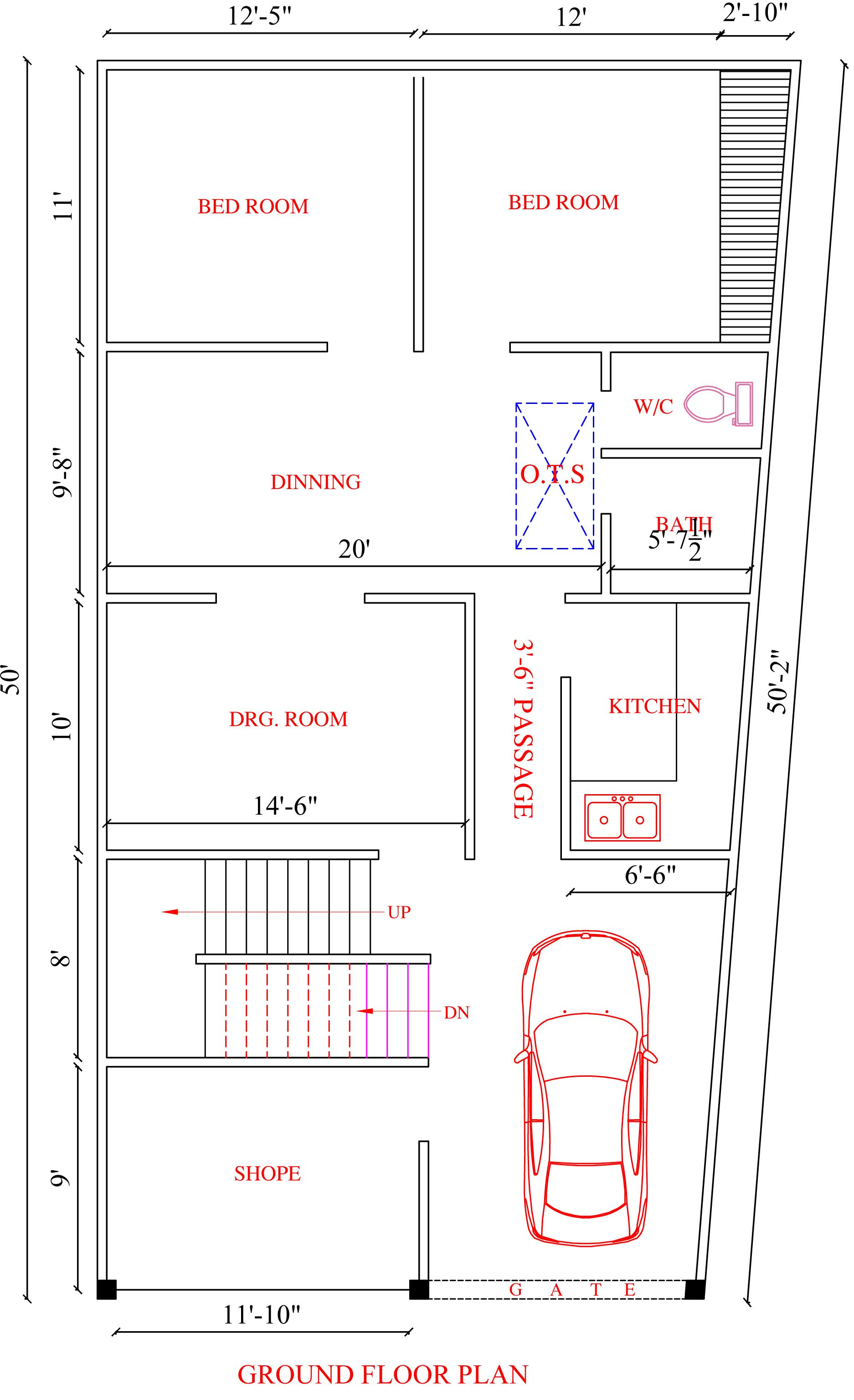 See If You Are Not Making The Same Mistake While Making The Layout Of Your Residence Inkarch Asso House Architecture Styles Bungalow House Design How To Plan