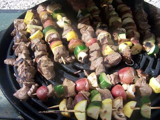 A to Z for Moms Like Me: Kabobs