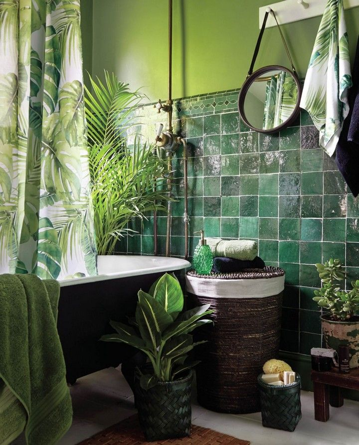 Best Ways To Redecorate With Green: Small Bathroom Storage Ideas: Ways To Clear The Clutter