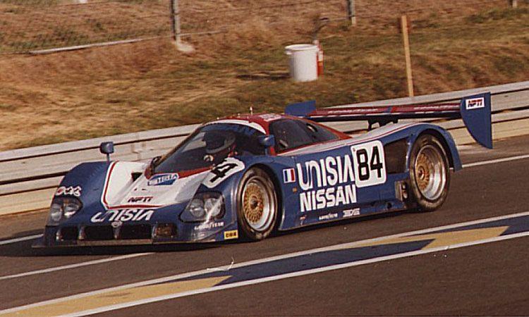1990 Nissan R 90 CK Nissan (4.894 cc.) (T) Steve Millen