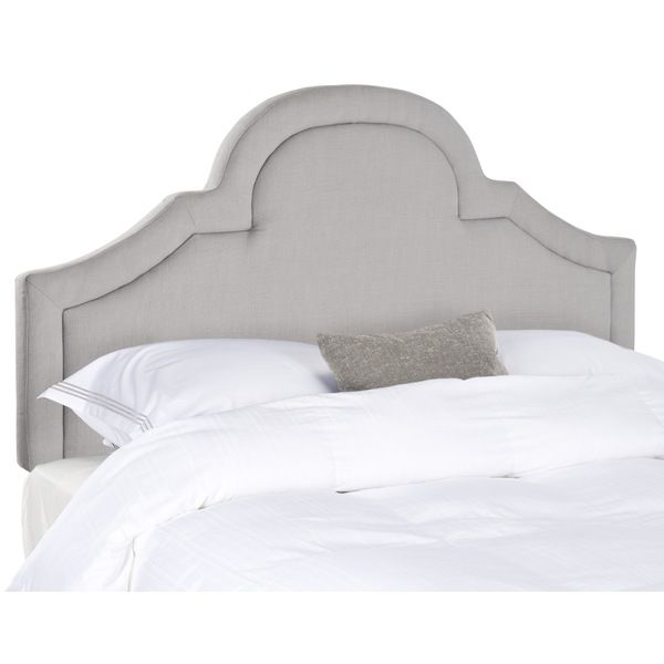 Safavieh Kerstin Arctic Grey Arched Headboard (Queen) - Overstock ...