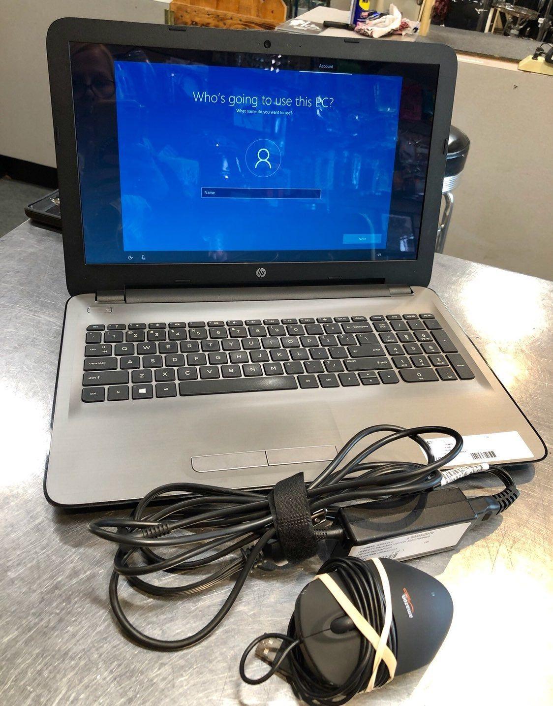 Hp 15ay041wm touchscreen laptop intel core i36100u 2