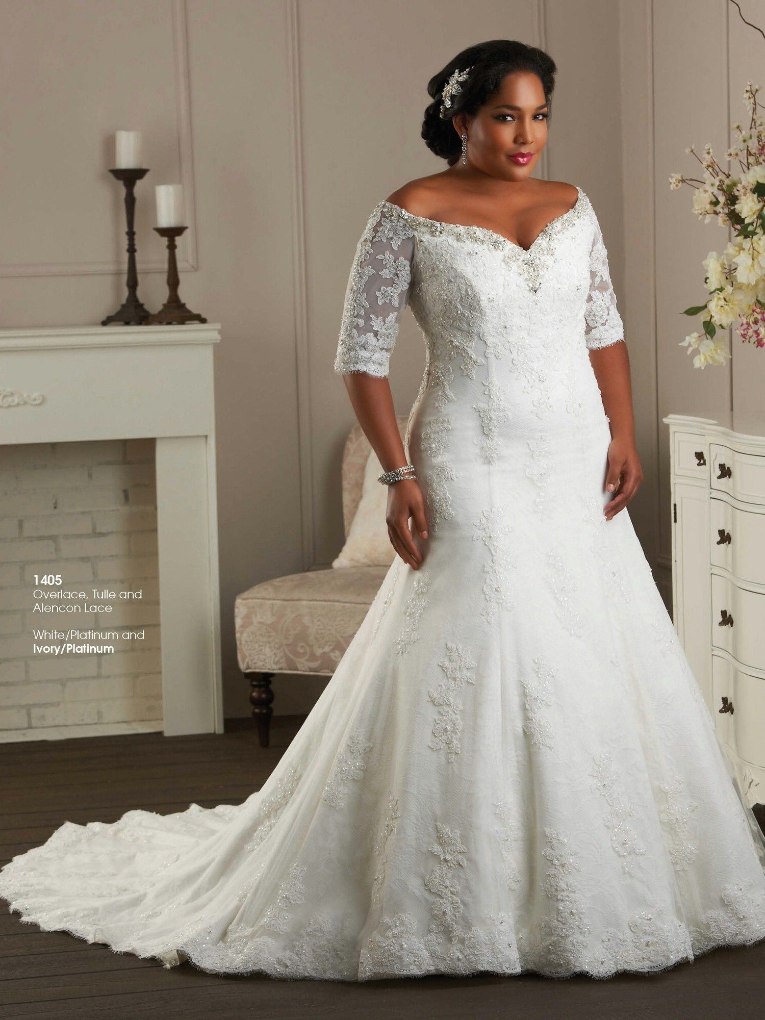 Plus size tulle wedding dress  Bonny Unforgettable Wedding Dresses  Style