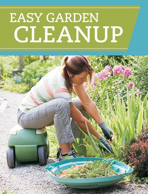 Easy garden cleanup   Easy garden, Yard landscaping simple ...