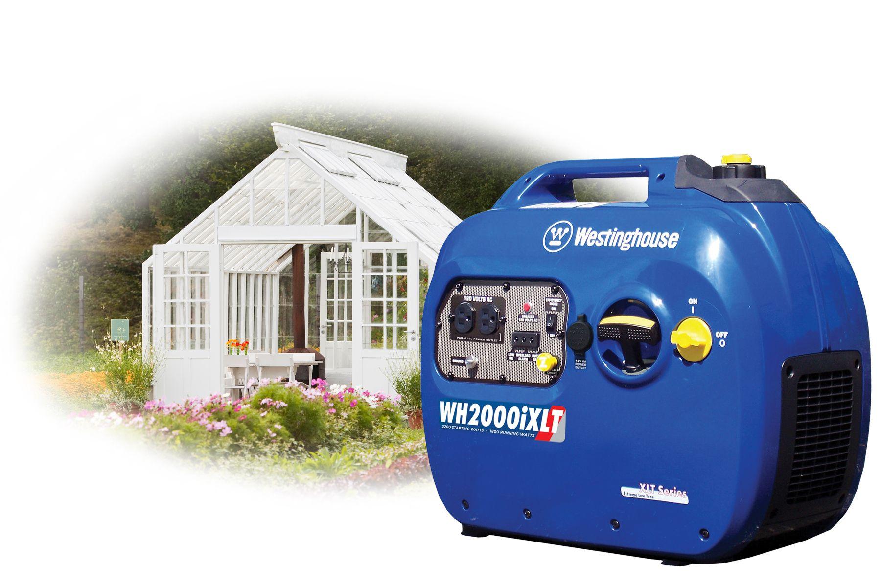 A Portable Generator Makes Sense for a Small Greenhouse