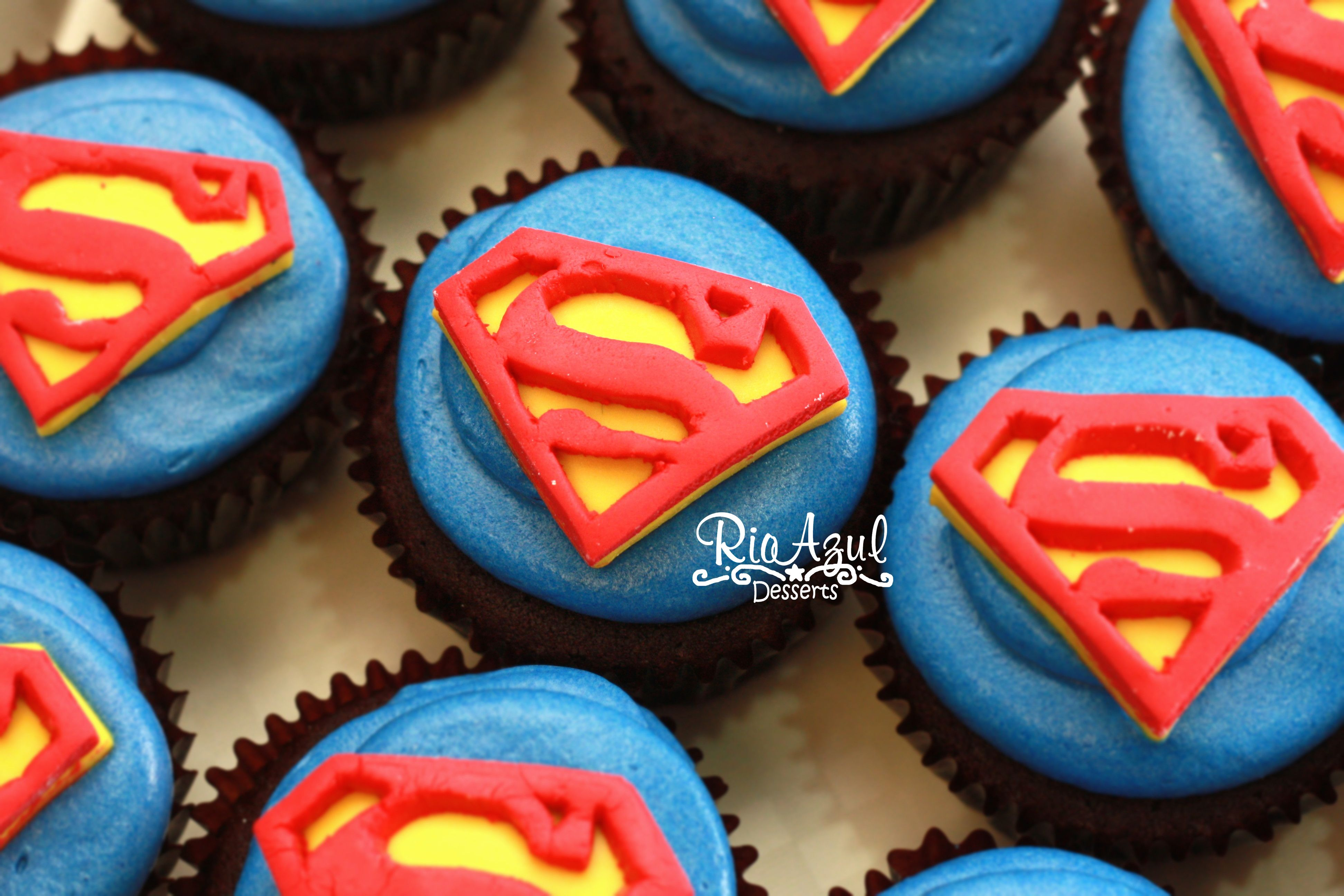 Pin by Terrence on Cupcake Pinterest Superman cupcakes Cake and