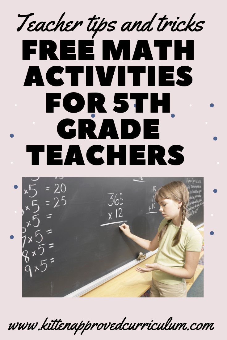 Looking For Free 5th Grade Math Activities Free Math Games For 5th Grade Free Math Worksheets Free Project Free Math Activity Math Activities Teaching Math