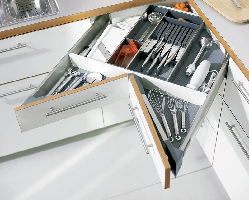 drawer systems from hettich and haefele that we use in our modular
