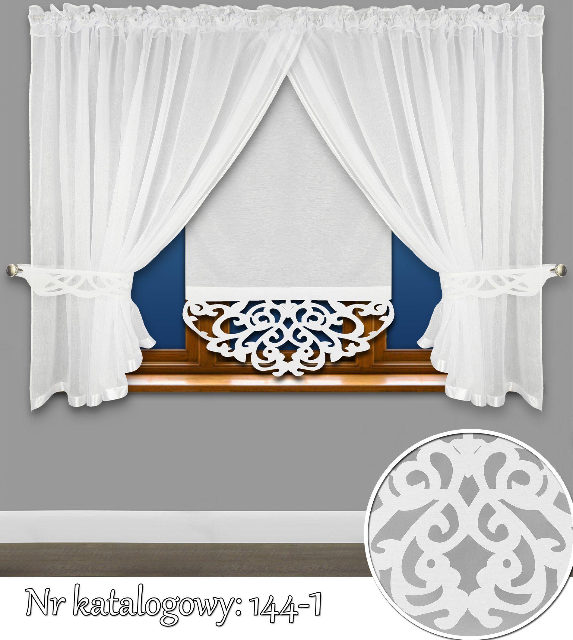 Zestaw Firan Azur Panel Sable Komplet Firana Ekran 7417899672 Allegro Pl Wiecej Niz Aukcje Curtain Decor Decor Home Decor
