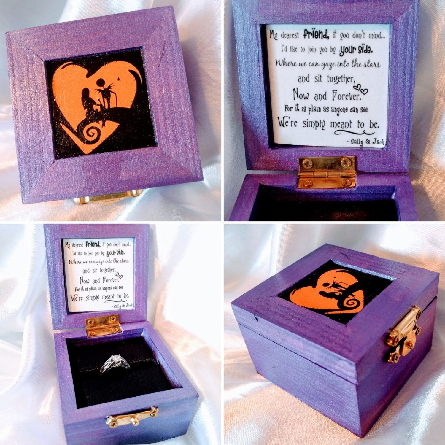 Updated photos for my Nightmare Before Christmas Proposal