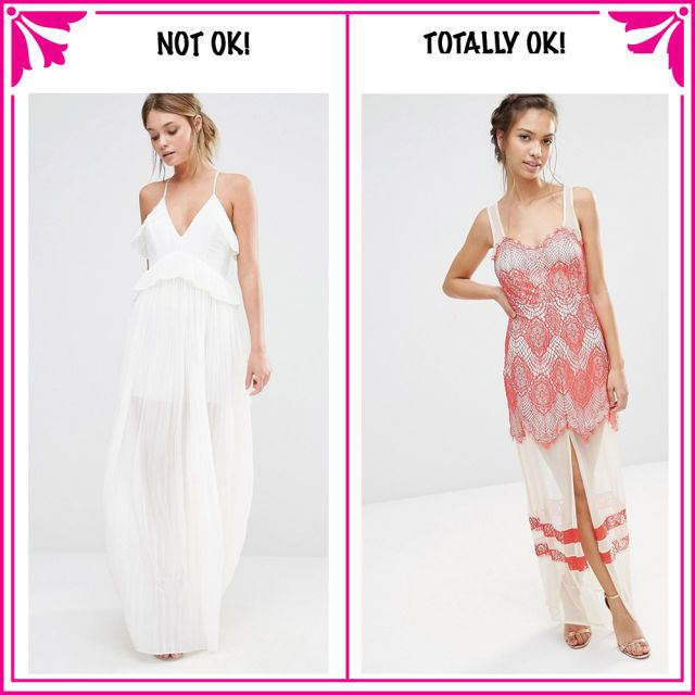 12 Things You Should Never Wear To A Wedding How To Wear Fashion Dresses
