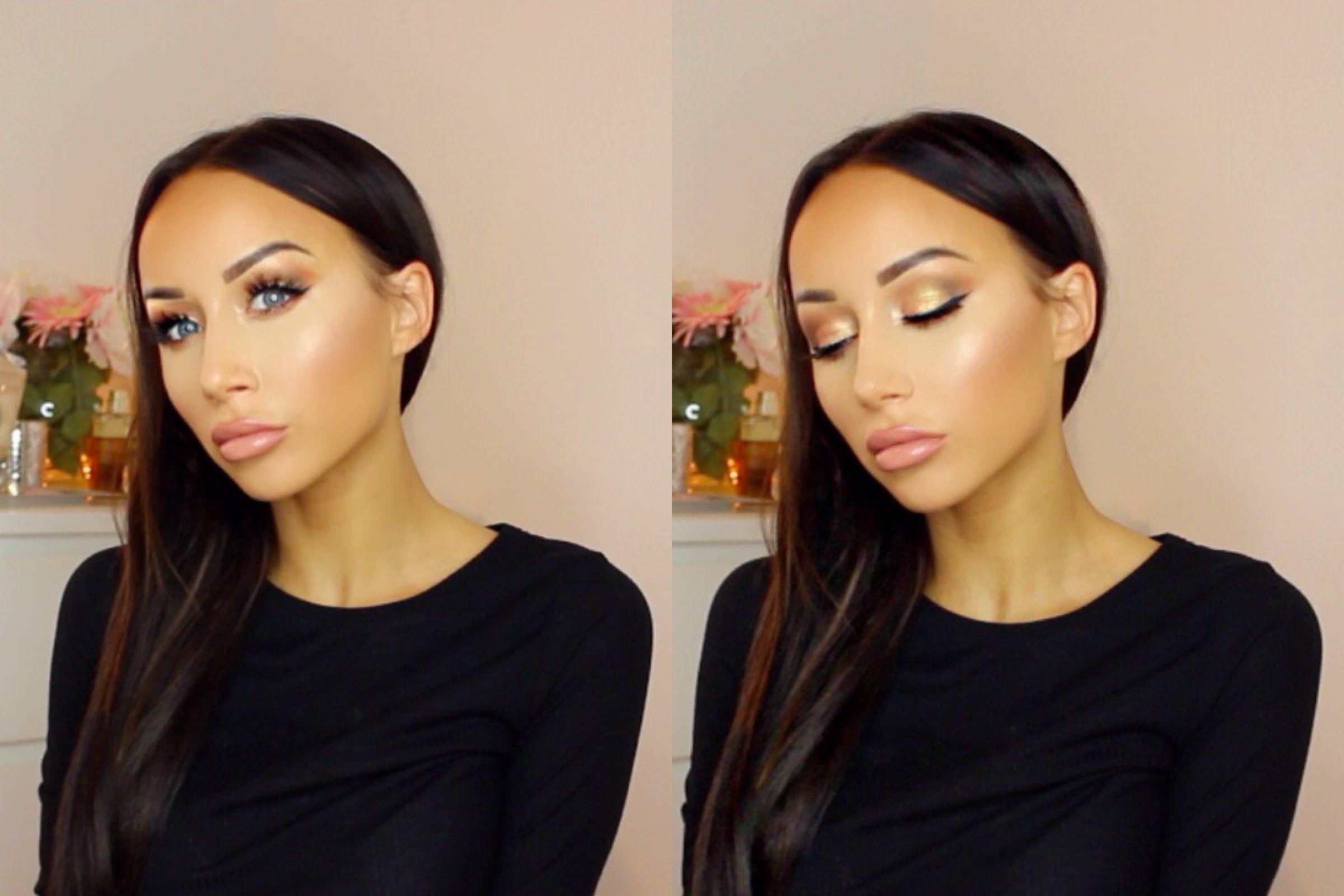 Dewy Bronzed Makeup Tutorial Makeup tutorials youtube