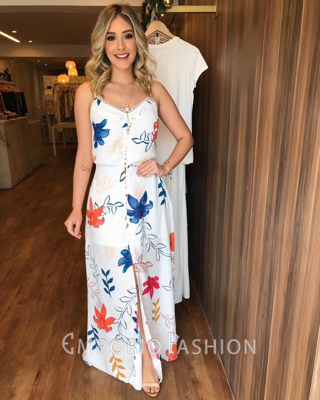 c2f7e13f4 🌴🌻COLEÇÃO VERÃO🌴🌞 Vestid | Oh outfit and fashion em 2019 ...
