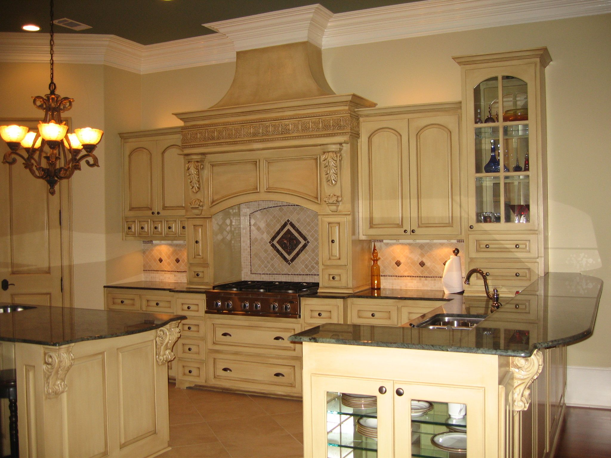 Breathtaking Tuscan Kitchen Cabinets Picture 267
