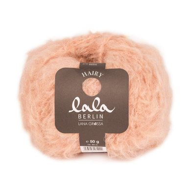 Lala Berlin Hairy is an on-trend yarn for one-of-a-kind garments and accessories, combining an exclusive blend of the finest merino, baby alpaca and acrylic. Wonderfully soft and available in a range of fashionable colours.