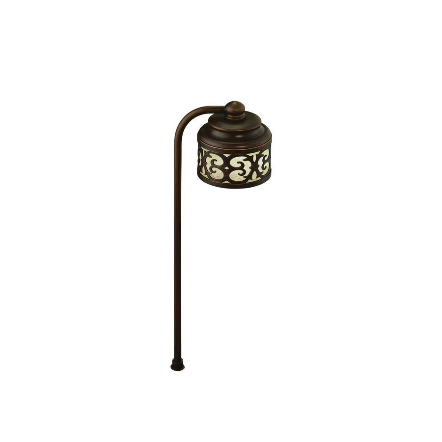 Shop Portfolio 1-Light Bronze Low Voltage LED Path Light ...